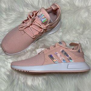 Adidas Xplorer Pink & Metallic Sneakers